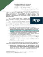 Diretrizes Curriculares Nacionais - Psicologia 2004