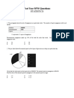 Past Year SPM_Statistics