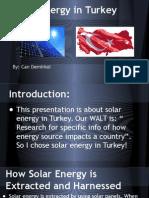 solar energy in turkey