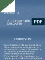 Unidad 2 2.3 Corrosion