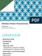 Wireless Power Transmission Ppt