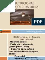 Dietoterapia e terapia nutricional oral2009.ppt