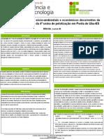 os possiveis impactos socioambientais e economicos decorrentes da implantação da quarta usina de pelotização em ponta de ubu - es