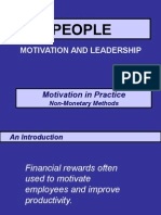 3.Motivation - Non-Monetary Methods