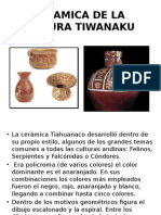 Ceramica de La Cultura Tiwanaku Fito