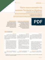BERON PADILLA RAPALI Nuevo Marco Normativo de OT en Mendoza