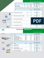 Knauf - Soleiras - Tabela de Preços 2010