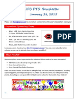 JFB PTO Newsletter 1-28-15