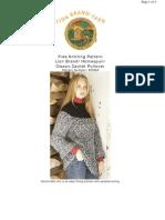 Bulky Yoke Sweater 60295A