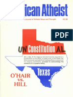 American Atheist Magazine Oct 1984