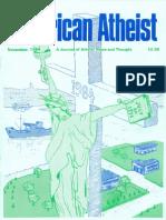 American Atheist Magazine Nov 1984