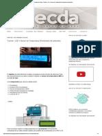 El cajón de Arduino_ Tutorial - LCD + Sensor de Temperatura (Termómetro de ambiente)