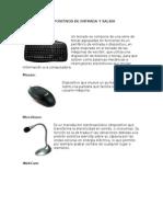Dispositivos de Entrada y Salida y Sistemas Operativos