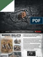 Barnes Bullets Catalog 2015