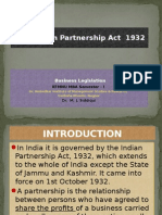 The Indian Partnership Act 1932
