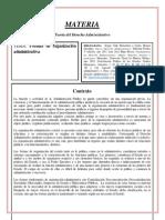 5.- Formas de Organizacion Administrativa