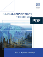 Global Employment Trends 2014 - Risk of a Jobless Recovery