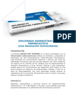 DIPLOMADO ADMINISTRACION FARMACEUTICA