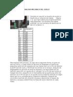 Analisis Mecanico Del Suelo