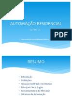 Palestra UFU - Automação Residencial (AR) - 2014
