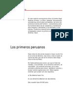 Caral y los primeros pobladores peruanos