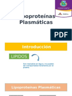 Lipoproteínas Plasmáticas