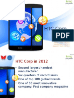 HTC corp 2012