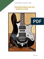 Mantenimiento Básico de Una Guitarra o Bajo