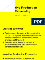 unit 5 - lesson 2 - negative production externalities