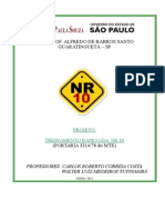 Projeto - Curso NR 10 A.doc