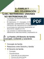 Lección 1 Derecho de Familia