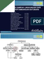 Identifika Dampak Lingkungan Pertambangan Batubara - Kelompok 2