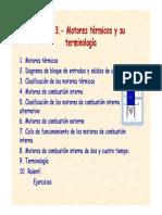 Tema 3. Motores Térmicos y Su Terminología