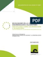 Musulmanes en La Unión Europea, Discriminación e Islamofobia