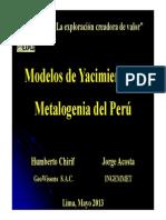 Evolucion Geologica Peru y Epocas Metalogeneticas Del Peru