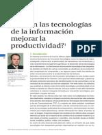 Productividad y Tecnologia