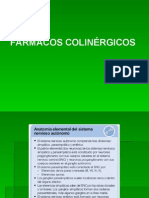 farmacologia colinergica