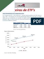 Carteiras de ETF's - ETF Portfolio JAN2015