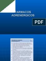 farmacologia adrenergica