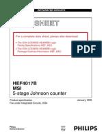 Data Sheet Cmos 4017
