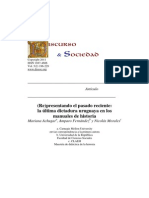 La Última Dictadura Uruguaya -Manuales de Historia