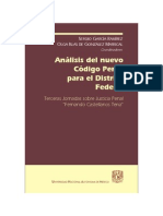 Analisis Del Nuevo Código Penal Para El Distrito Federal-FreeLibros