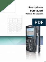 Guia SGH-i326N Spanish