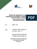 Informe Preliminar ENAMI HVL 2015