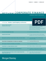Journal of Applied Corporate Finance Volume 19 Issue 2 2007 [Doi 10.1111%2Fj.1745-6622.2007.00137.x] Javier Estrada -- Discount Rates in Emerging Markets- Four Models and an Application