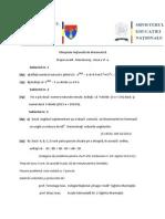 2014 Matematica Locala Maramures Clasa a via Subiectebarem Varianta 2