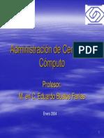 Presentacion_2004 Admon Centros de Computo