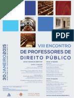 VIII Encontro Anual de Professores Portugueses de Direito Público
