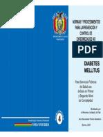 Normas y Procedimientos - Diabetes Miellitus