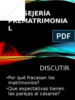 Consejeria Cristiana Sesion 12 Consejeria Prematrimonial y Probl Matrimoniales